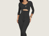 Model 4078M - Gorgeous Post-Surgical Slenderizing Full Bodysuit Shaper w/Extra Opening