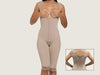 Model 4080 - Glamorous Invisible Slimming And Toning Open Bust Bodysuit Shaper w/Thighs Slimmer