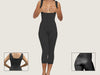 Model 4080FCP - Indiscernible Toning Post-Op BBL Capri Body Shaper With High Back & Thighs Slimmer