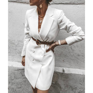 Fashion Versatile Long Casual Blazer