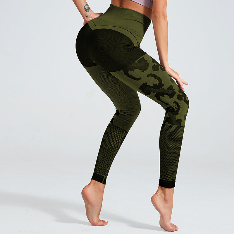 Breathable Camouflage Leggings - Leggings, Sportswear, Sweatpants, Yoga Pants, Fitness, Sport bra, Yoga