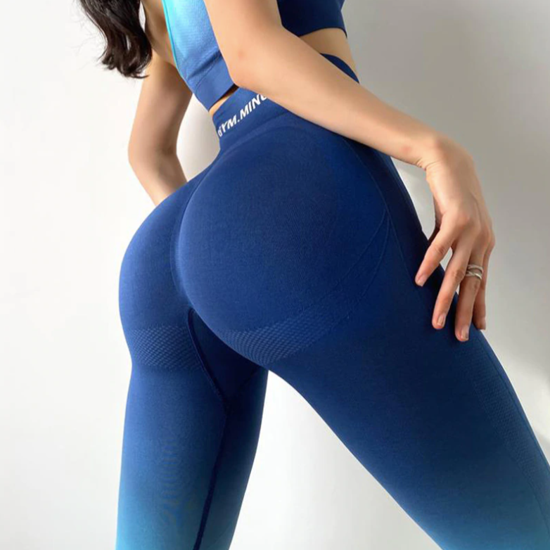 Ombre Yoga High Waist Leggings