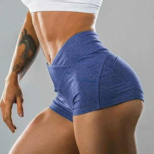 High Waist Pocket Shorts - Fit Spirit