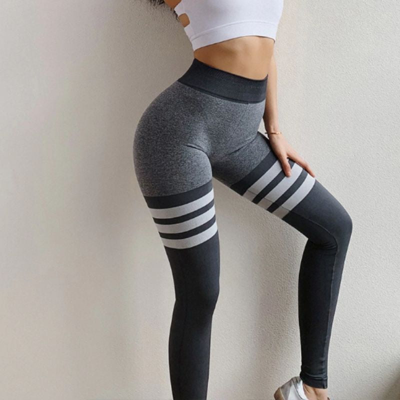 Push Up 3 Lines Leggings - Leggings, Sportswear, Sweatpants, Yoga Pants, Fitness, Sport bra, Yoga