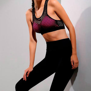 Net Shape Top - Leggings, Sportswear, Sweatpants, Yoga Pants, Fitness, Sport bra, Yoga