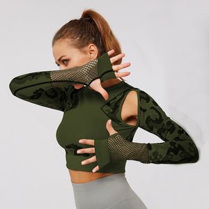 Breathable Camouflage Top