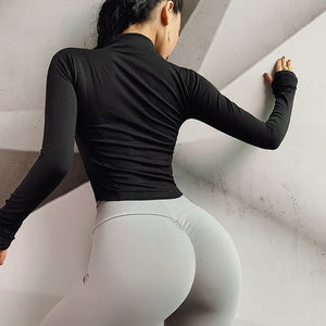 Sporty Autumn Jacket - Leggings, Sportswear, Sweatpants, Yoga Pants, Fitness, Sport bra, Yoga