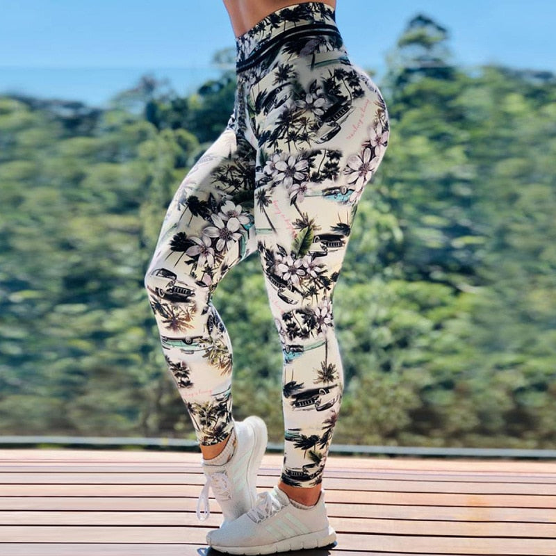 Vacation Fitness Leggings