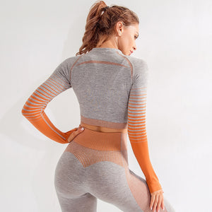 Ombre Seamless Top - Leggings, Sportswear, Sweatpants, Yoga Pants, Fitness, Sport bra, Yoga