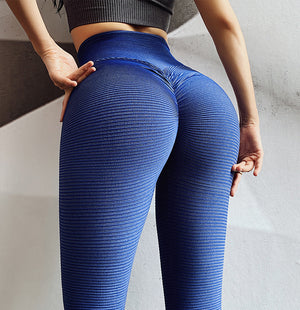 Textured High Waist Seamless Leggings - Leggings, Sportswear, Sweatpants, Yoga Pants, Fitness, Sport bra, Yoga
