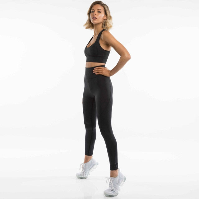 Solid Casual Seamless Set