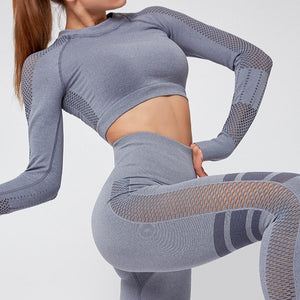 Mesh Patchwork Seamless Set