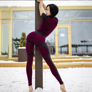 Biker Fitness Jumpsuit - Leggings, Sportswear, Sweatpants, Yoga Pants, Fitness, Sport bra, Yoga