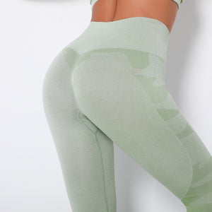 Camo Heart Leggings