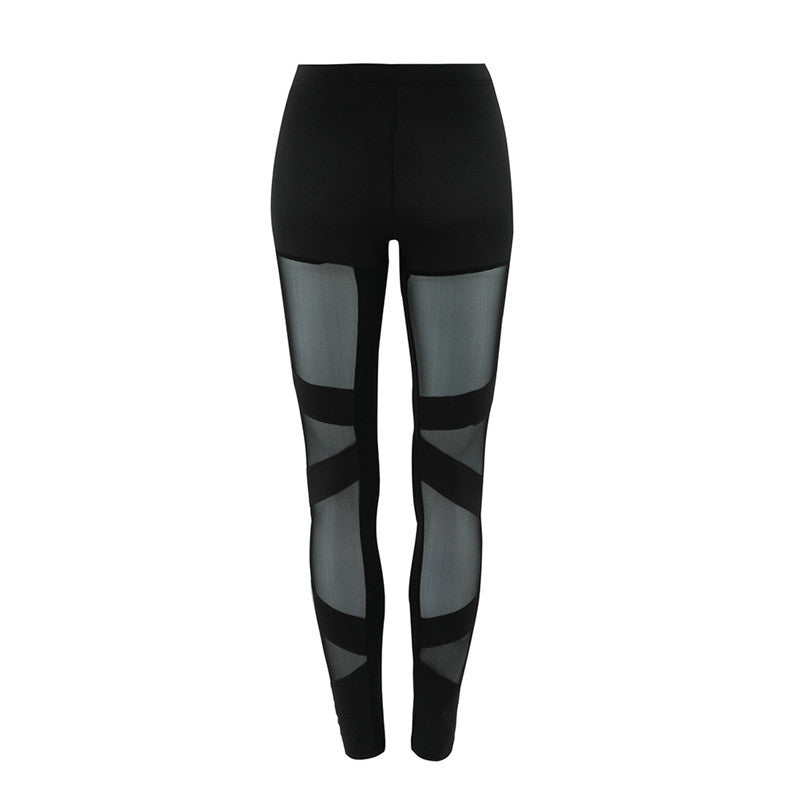 Sexy Mesh Tight Leggings - Leggings, Sportswear, Sweatpants, Yoga Pants, Fitness, Sport bra, Yoga