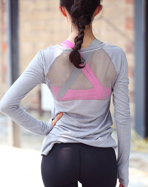Try Mesh T-Shirt - Leggings, Sportswear, Sweatpants, Yoga Pants, Fitness, Sport bra, Yoga