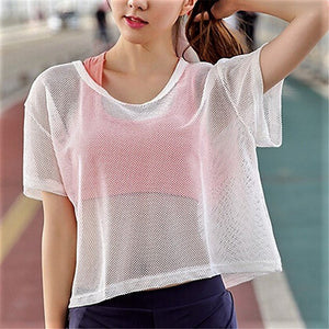 Breathable Mesh T Shirt - Fit Spirit