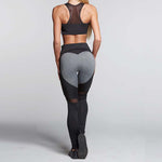 Heart Mesh Leggings - Fit Spirit