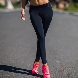 Casual Black Heart Leggings - Leggings, Sportswear, Sweatpants, Yoga Pants, Fitness, Sport bra, Yoga