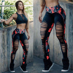 Stretch Hollow Leggings - Leggings, Sportswear, Sweatpants, Yoga Pants, Fitness, Sport bra, Yoga