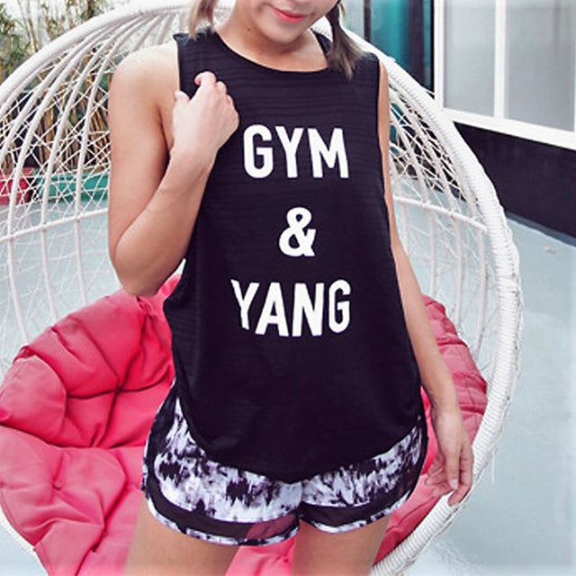 Gym & Yang Top - Leggings, Sportswear, Sweatpants, Yoga Pants, Fitness, Sport bra, Yoga