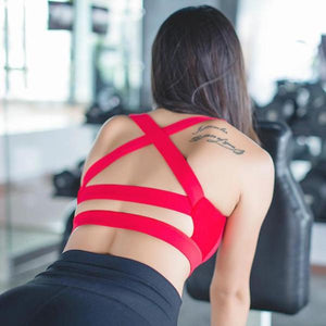 Workout Back Straps Bra - Fit Spirit