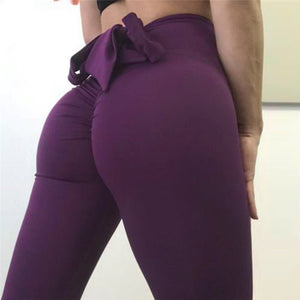 Bowknot Push Up Leggings - Leggings, Sportswear, Sweatpants, Yoga Pants, Fitness, Sport bra, Yoga