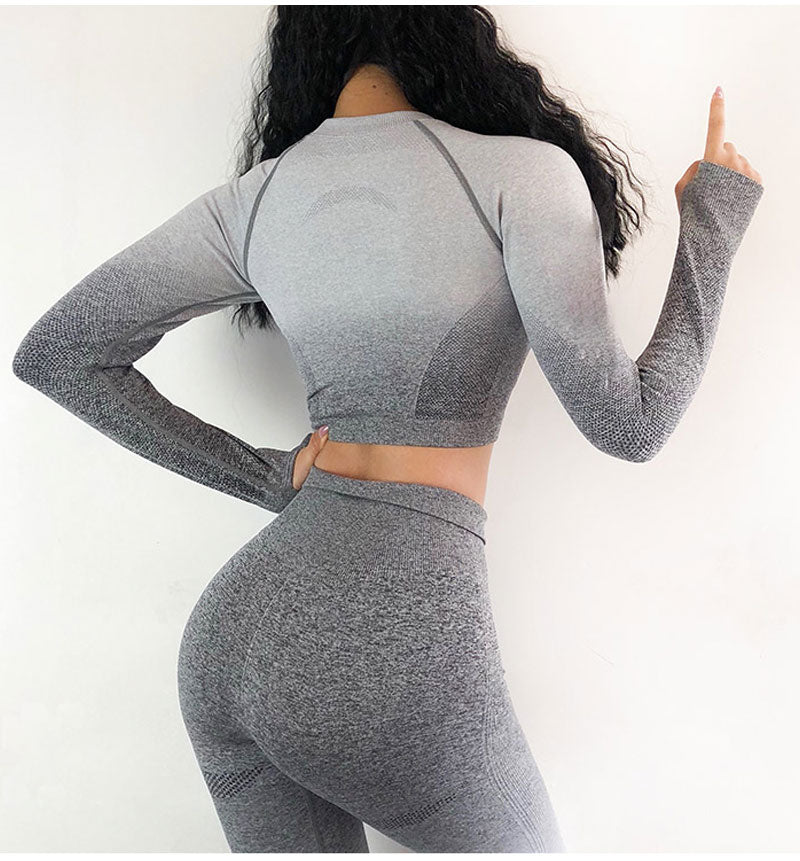Ombre Active Top - Leggings, Sportswear, Sweatpants, Yoga Pants, Fitness, Sport bra, Yoga