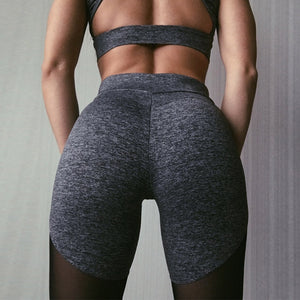 Activewear Patchwork Mesh Leggings - Leggings, Sportswear, Sweatpants, Yoga Pants, Fitness, Sport bra, Yoga