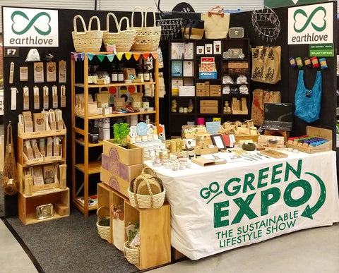 Earthlove display at the Christchurch Go Green Expo