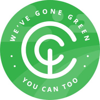 "CarbonClick badge of honour: ""We've gone green, you can too""."