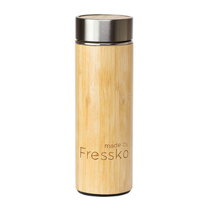 Insulated tea or coffee flask or water bottle with inbuilt filter.