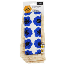 Blue Flower Produce Bag