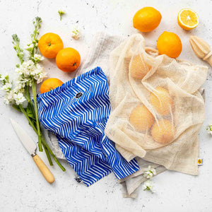 Blue River Produce Bag with Fruit