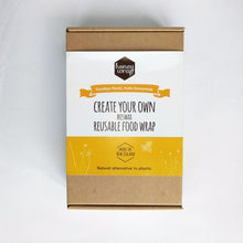 Organic cotton DIY beeswax wrap kit box