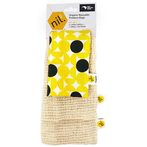 Yellow Dots Produce Bags