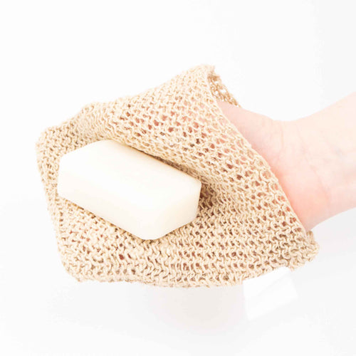 Hemp wash cloth and soap