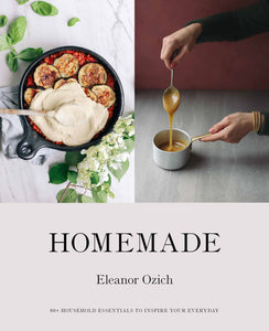 Front cover of Homemade book by Eleanor Ozich.
