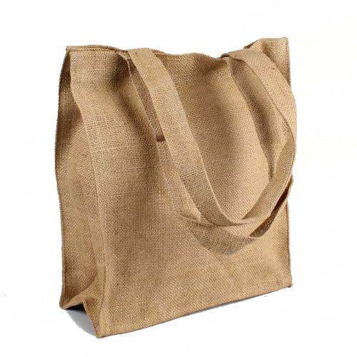 Biodegradable Jute Reusable Shopping Bag