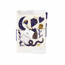 Tea towel and dish cloth set with Mystic Stories artwork by Studio Soph.