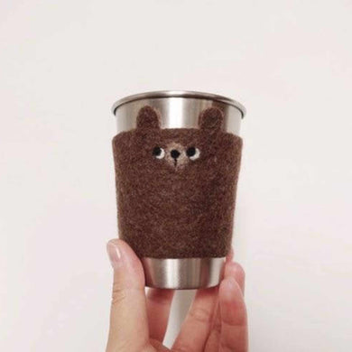 Again Again Coffee Cup Cozy Bear