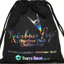 Cloth Bag for Rainbow Clothes Pegs