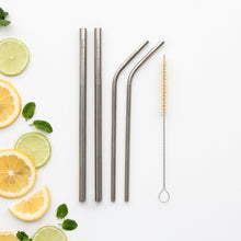 Reusable Stainless Steel Straw Mixed Pack.