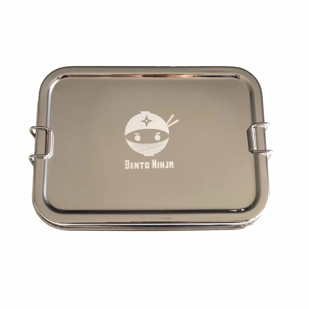 Single Stainless Steel Lunchbox with clasps