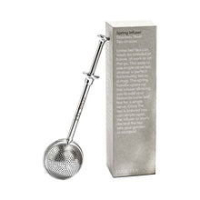 Stainless steel loose leaf tea infusers and box.