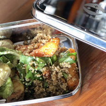 Lunchbox with healthy salad