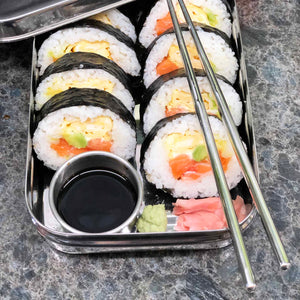 Lunchbox for sushi.