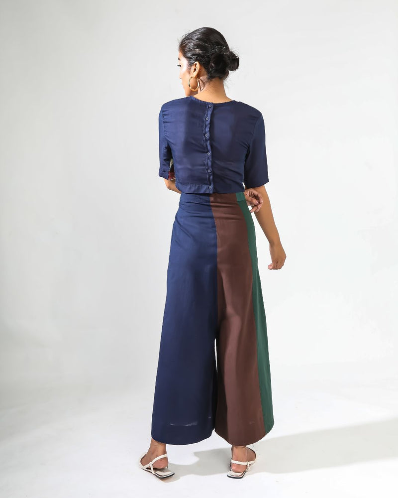 Deep Story Divided Skirt