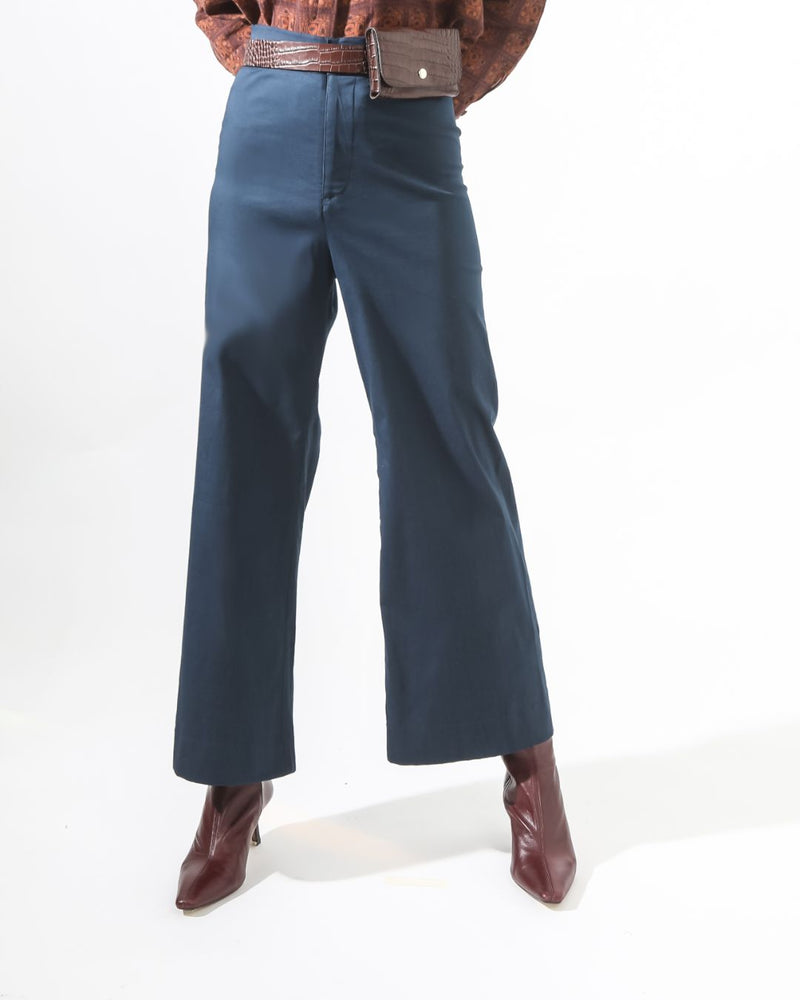 Coral Wide Legged Trousers