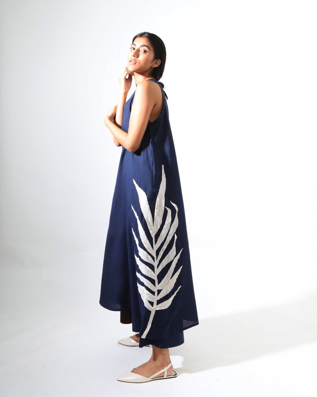 Gardenia Space Khadi Dress